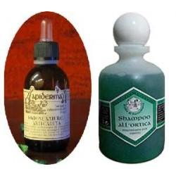 Lozione anticaduta e Shampoo ortica